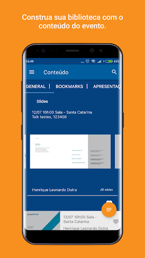 Makadu. App para eventos. screenshot