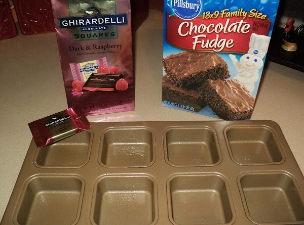 Prepare pan by greasing generously, these brownies want to stick easily, if possible line...