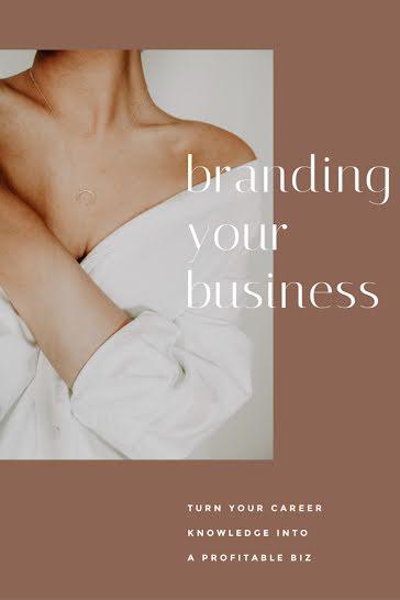 Branding Your Business - Pinterest Pin Template