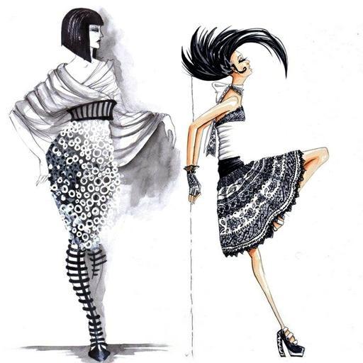 Draw Clothes Like Fashion Designer