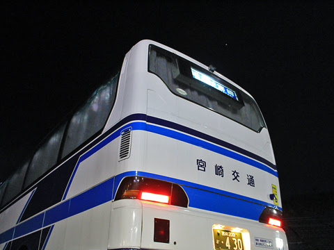 宮崎交通「福岡~延岡・宮崎 夜行線」 ・430 山田SAにて_04