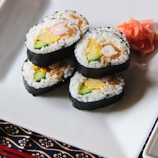 Futomaki Sushi.