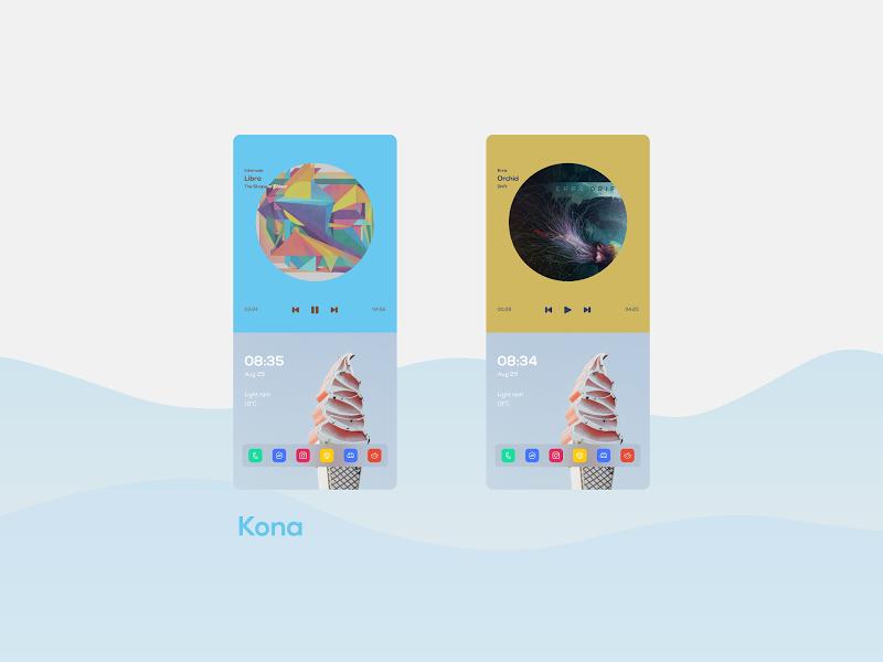 Wavy for KLWP Screenshot 6