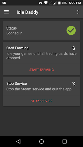 Idle Daddy - Game Idler/Card Farmer for Steam™ 2.0.44 screenshots 1