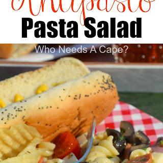 Loaded Antipasto Pasta Salad.