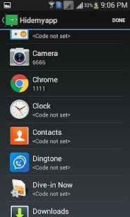 Hide Apps- screenshot thumbnail