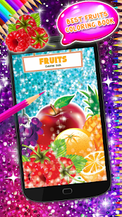 Fruits Coloring Book - náhled