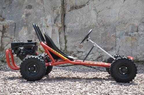 6.5 hp horse power offroad dirt go kart cart bike automatic kids teenagers 4 stroke motoworks sale discount cheap red