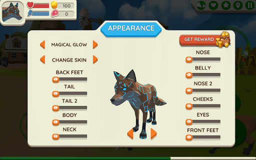 Fox Family - Animal Simulator 3d Game apkmr screenshots 5