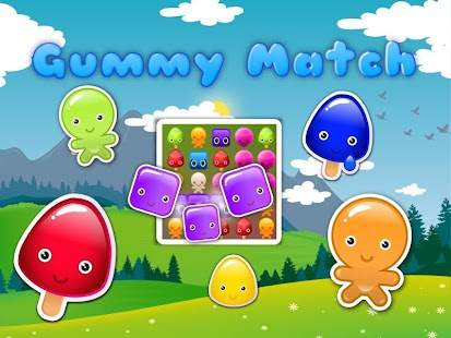 Gummy Match 3- screenshot thumbnail