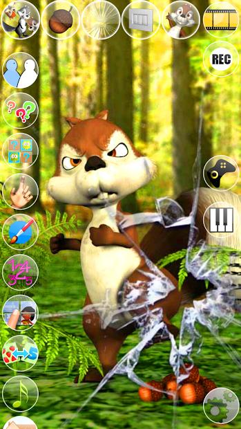 Talking James Squirrel screenshot 2