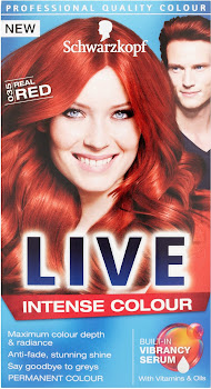 Schwarzkopf Live Intense Hair Colour - 035 Real Red