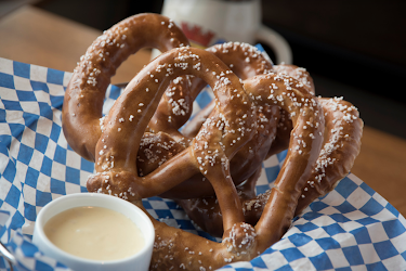 Bavarian Pretzels & Beer Cheese