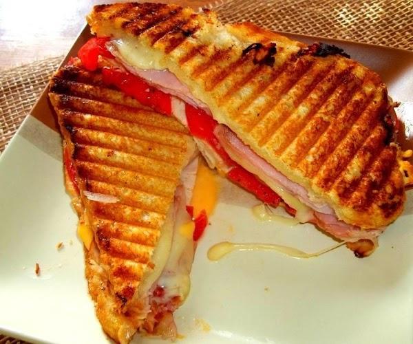 ~ Triple Cheese / Ham - Turkey & Bacon Melt ~ Recipe