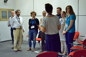 Photo: #eden14 Ice-breaking makes the workshop kick-start with fun Photo by SRCE