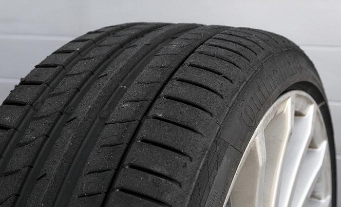 протектор изношенной шины