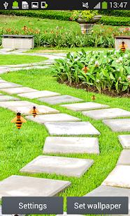 zahrada živé tapety - náhled