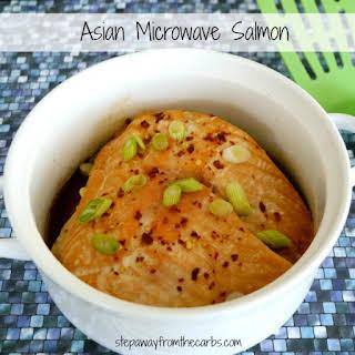 Asian Microwave Salmon.