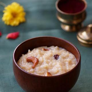 Bellam Paramannam Recipe / Andhra Style Jaggery Rice Pudding.