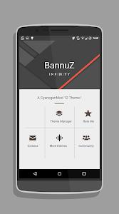BannuZ Cm12.1 / RR  theme v1.5