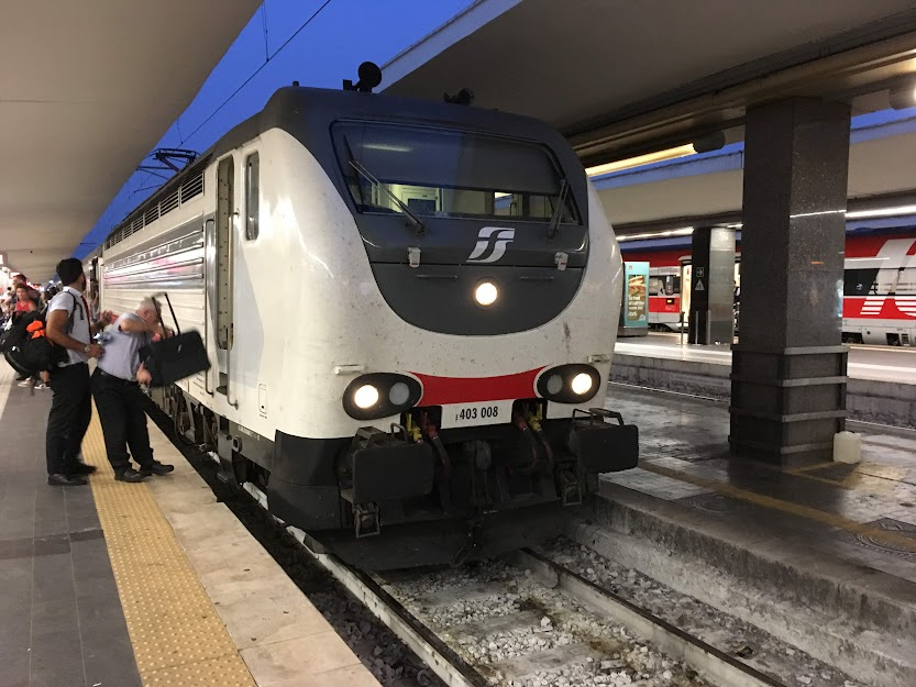 Intercity 1524 Siracusa-Roma Termini