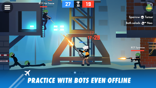 Stick Combats: Multiplayer Stickman Battle Shooter screenshots 3