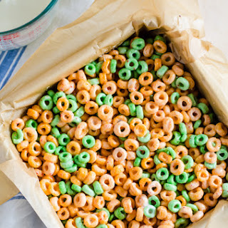 Breakfast Cereal and Milk Bars.