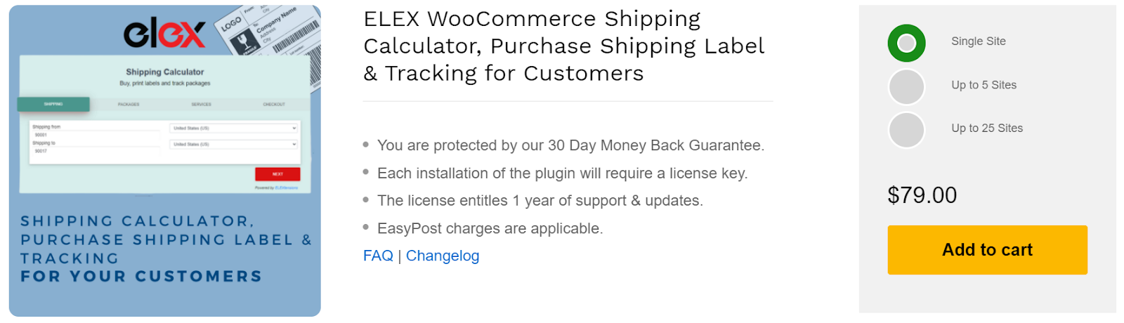 WooCommerce Shipping Calculator, woocommerce shipping plugins