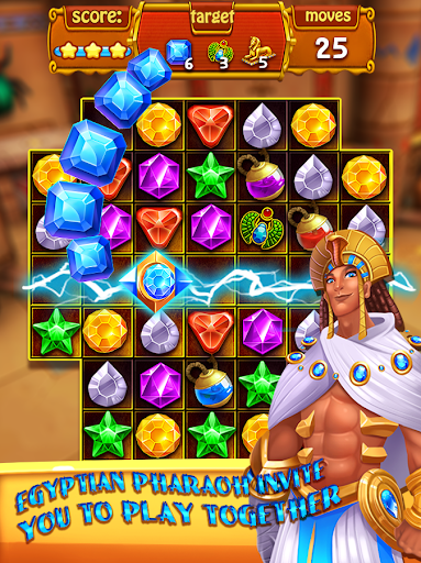 Mysterious Pharaoh Cursed Jewels 1.3 {cheat|hack|gameplay|apk mod|resources generator} 5