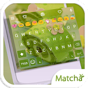 Matcha Emoji Keyboard Theme