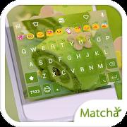 Matcha Emoji Keyboard Theme