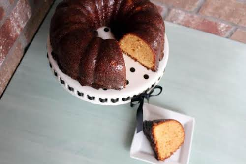 """Click Here for Recipe: Tropical Pound Cake """"We knew this was going..."""