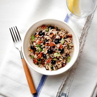 Blueberry Wild Rice Salad