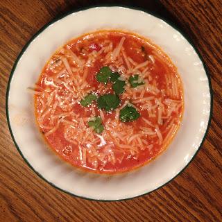 Sopa de Fideo – Mexican Noodle Soup.