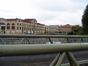 Photo: And a final look back at the factory complex, which the Menier family sold in 1959, and chocolate production continued until 1992. The site does continue to be the headquarters of Nestle France.