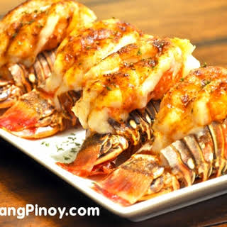 Baked Lobster Tail.