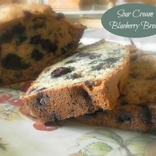 Sour Cream Blueberry Bread