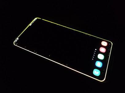 Galaxy phone Edge Lighting Live Wallpaper 5