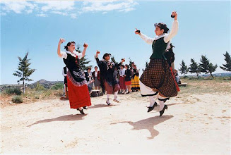 Photo: Agrupación folclórica Virgen de Bureta (Mayo 1996)