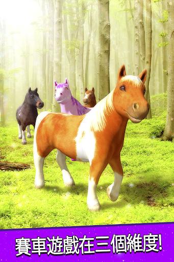 免費 小馬 的馬 賽車 獨角獸 遊戲 為孩子