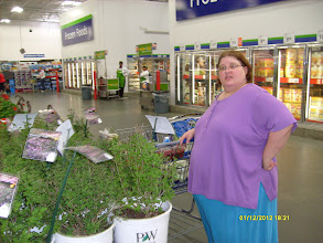 Photo: Horrible picture of me, but I'd love this plant for my yard!