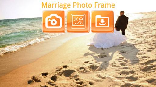 Marriage Photo Frame