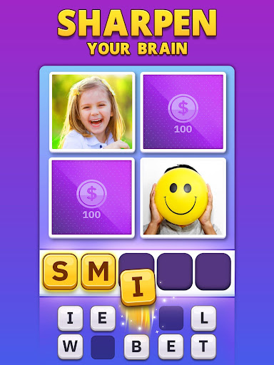 4 Pics 1 Word Pro - Pic to Word, Word Puzzle Game  screenshots 17
