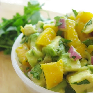 Mango Salsa with Avocado, Cilantro & Lime