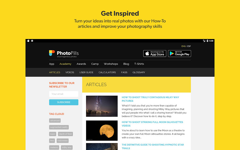 PhotoPills Screenshot 9