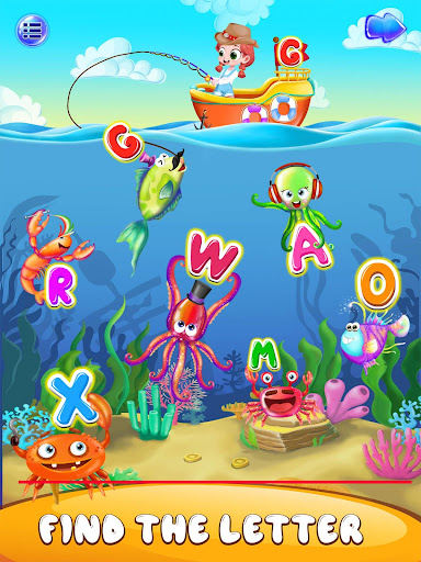ABC Kids Games for Toddlers - alphabet & phonics apkpoly screenshots 7