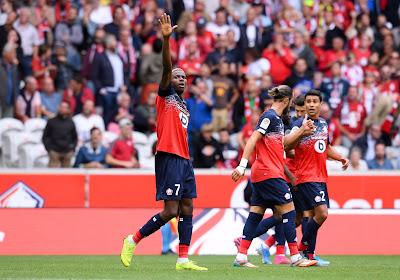 Ligue 1 : Lille, avec un doublé d'Osimhen, s'impose contre Saint-Etienne