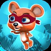 Jungle Bear Ninja Jump Game