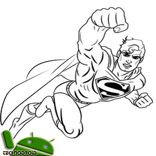 Technique Of Drawing The Best Superman Sketch Apk Latest Version 1 0