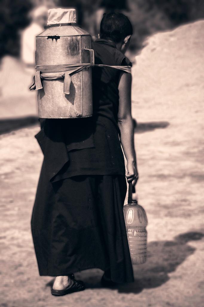 Vado a prendere l'acqua. di NickAdami